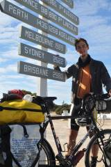 Cycling London to Sydney – Inclines, Isfahan and an Inflatable Globe